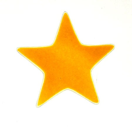 Fusingglas Stern 10 cm / ohne Loch