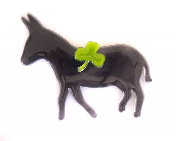 Fusingglas Esel