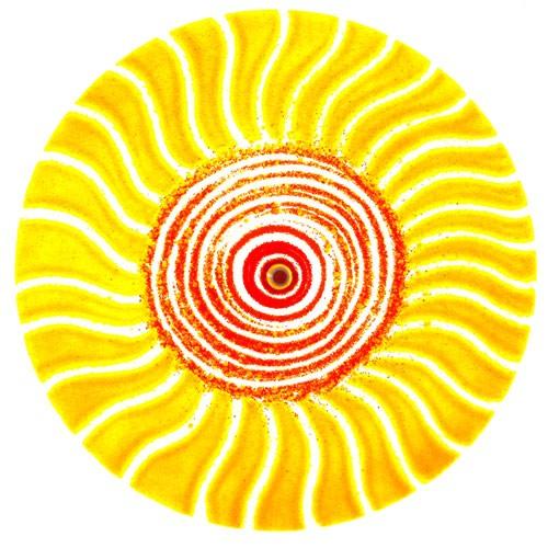Fusingglas 40 cm