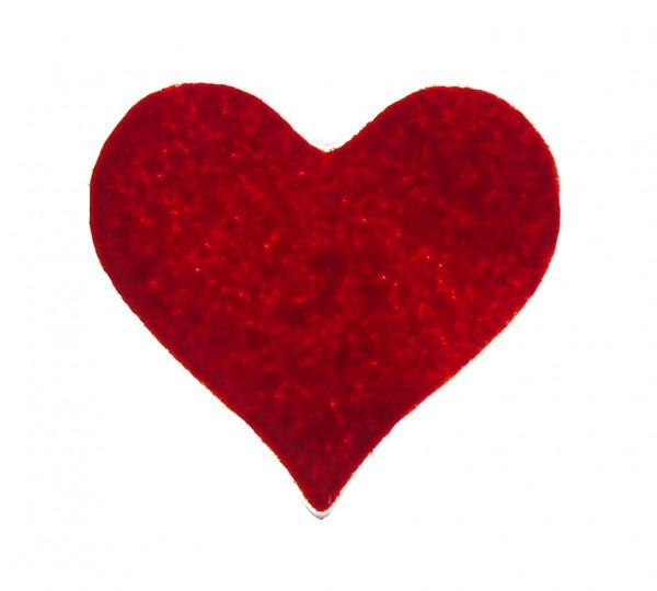 Fusingglas 8 cm Herz