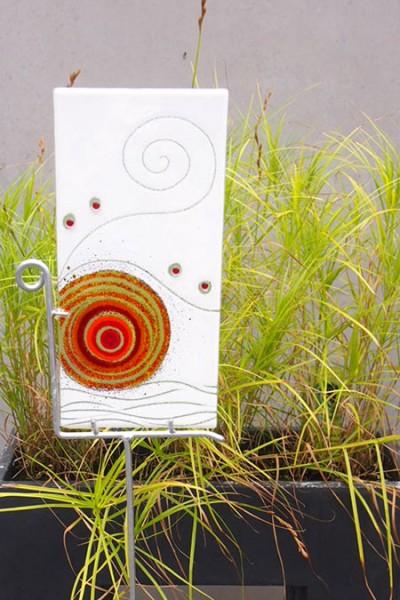 Fusingglas Gartenobjekt