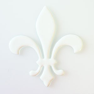 "Fusingglas Symbol ""Lilie"" mittel"