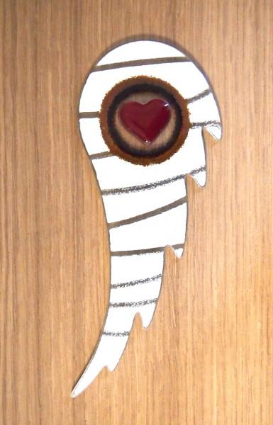 Fusingglas Engelsflügel groß