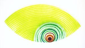 Fusingglas Auge groß