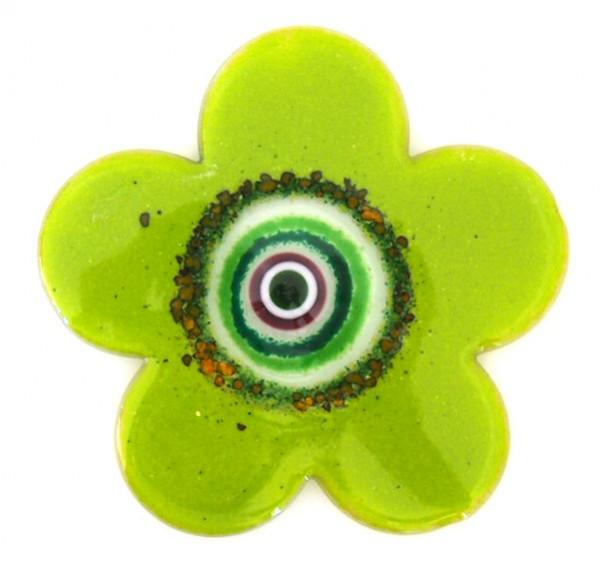 Fusingglas Blume rund 15 cm