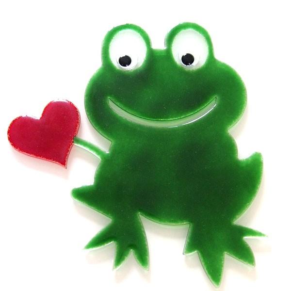 Fusingglas Frosch