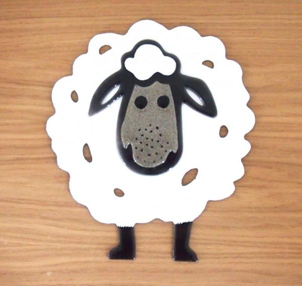 Fusingglas Schaf groß