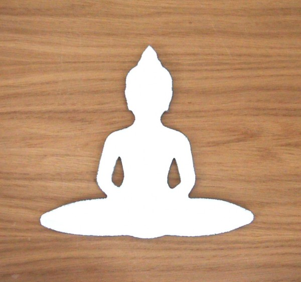 Fusingglas Buddha klein