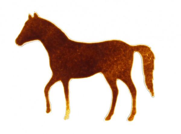 Fusingglas Pferd stehend