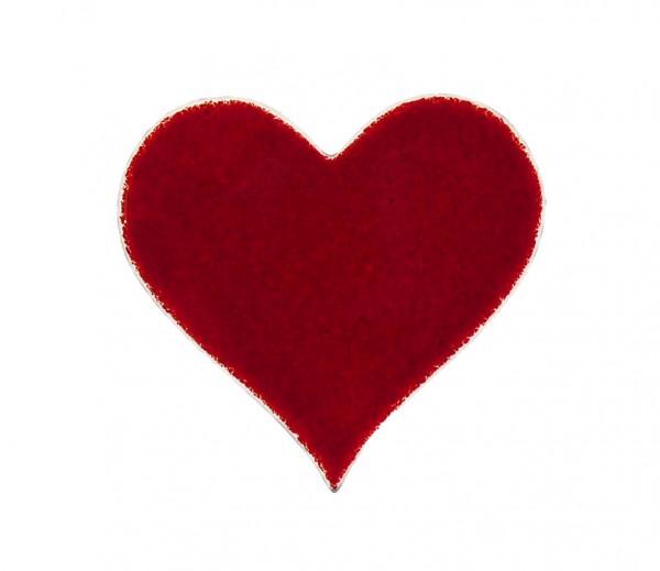 Fusingglas 10 cm Herz
