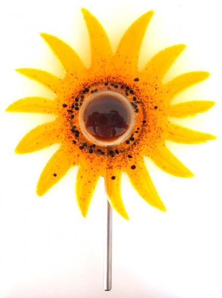 Fusingglas Sonnenblume