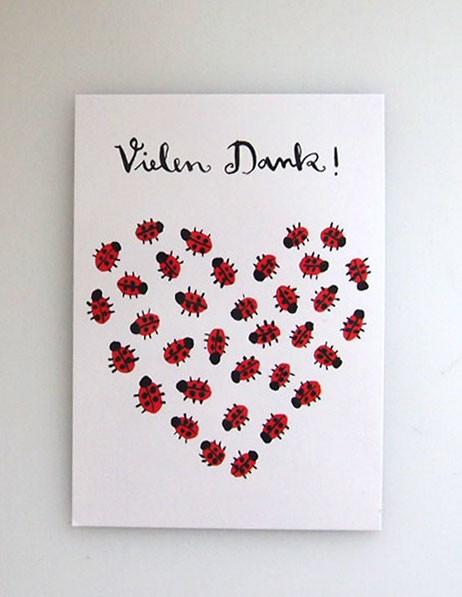 """Postkarte """"Vielen Dank!"""""""