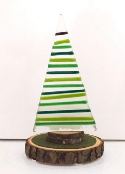 Fusingglas Teelicht Tannenbaum klein