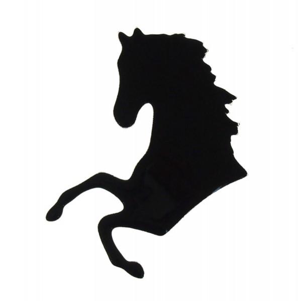 Fusingglas Pferdekopf