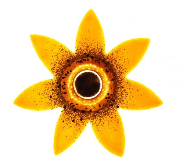 Fusingglas Sonnenblume 25 cm