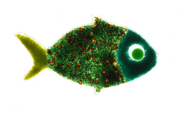 Fusingglas Fisch klein