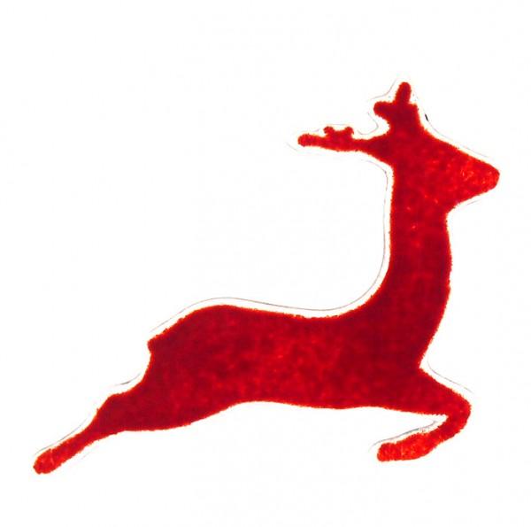 Fusingglas Hirsch springend 10cm