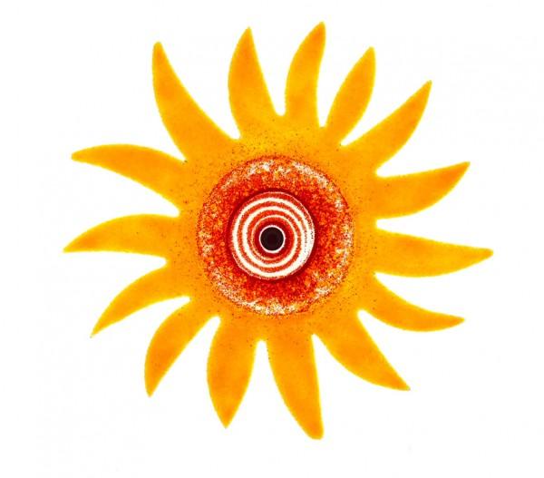 Fusingglas 40 cm Sonne