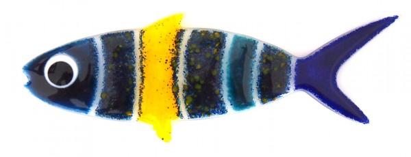 Fusingglas Fisch mittel