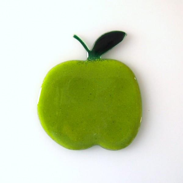Fusingglas Motiv Apfel 10 cm
