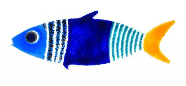 Fusingglas Fisch spitzig