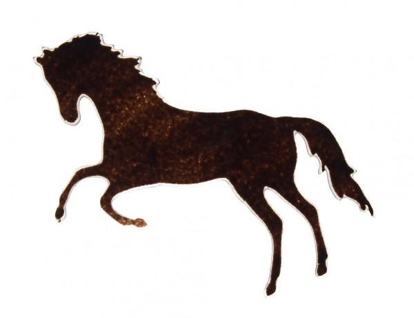 Fusingglas Pferd springend