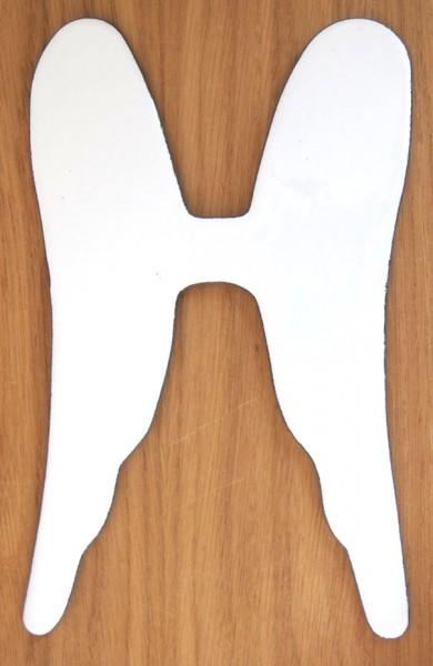 Fusingglas Doppelflügel groß