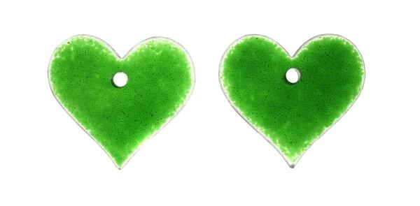 Fusingglas Set Herzen