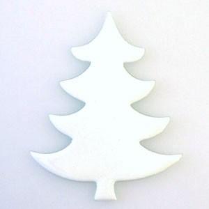 Fusingglas Tanne 15 cm / ohne Loch