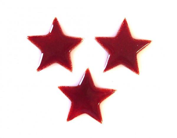 Fusingglas Sterne Set / ohne Loch