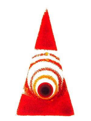 Fusingglas Dreieck Mini