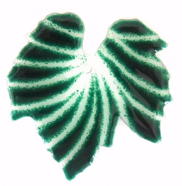 Fusingglas Ahornblatt