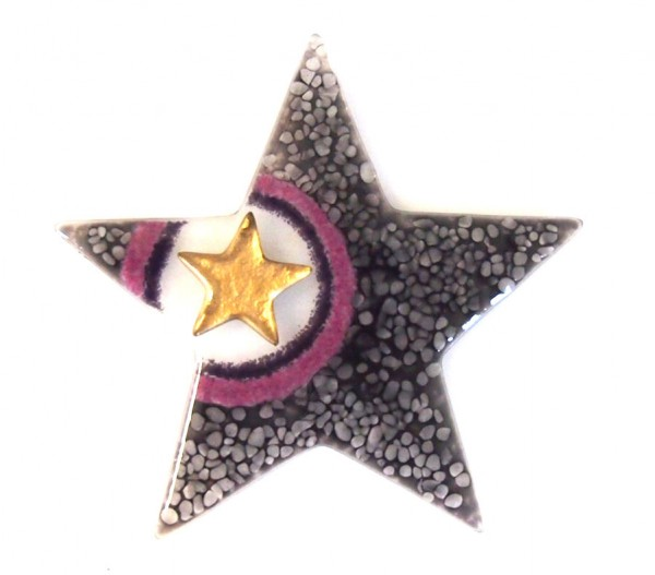 Fusingglas Stern 15 cm / ohne Loch