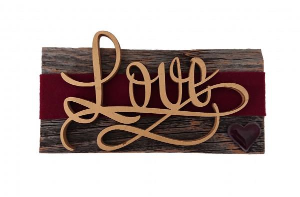 Hochzeitsobjekt Love