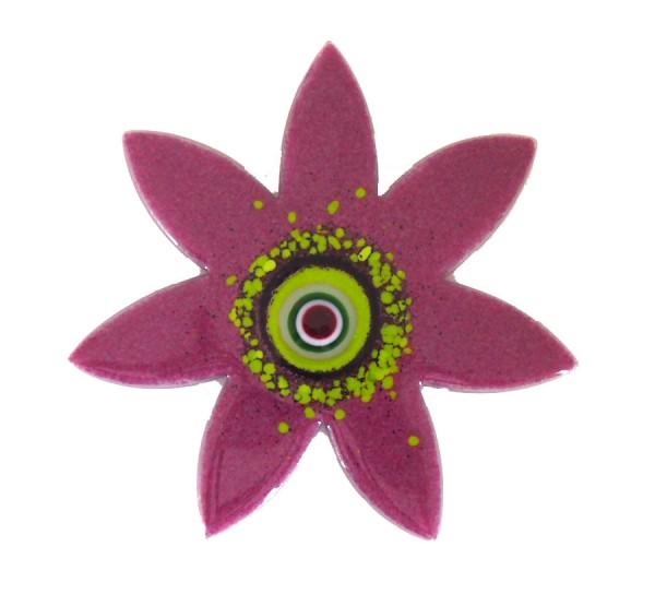 Fusingglas Blume spitz 20 cm