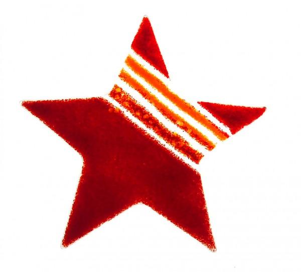 Fusingglas Stern 20 cm / ohne Loch